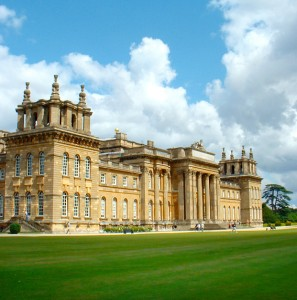 Blenheim Palace, perhaps Vanbrugh's most famous work, has strong parallels with his work at Kings Weston