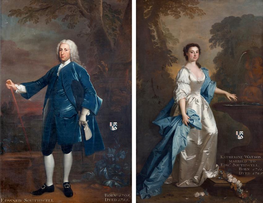 Edward southwell II and Katherine 1740
