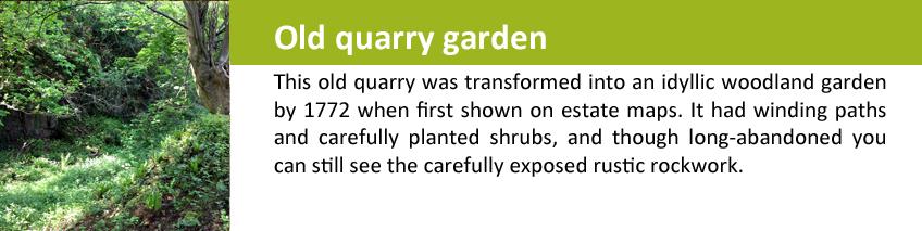 quarry garden