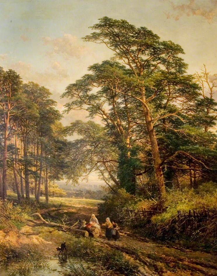 Kings Weston Park, John Syer.