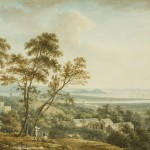View over King's Weston towards the Bristol Channel, c.1785, View over King's Weston towards the Bristol Channel, Bristol Museum and Art Gallery
