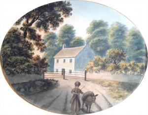 Park Lodge, Shirehampton Road, c. 1800-1820. Courtesy of Neath Antiquarian Society