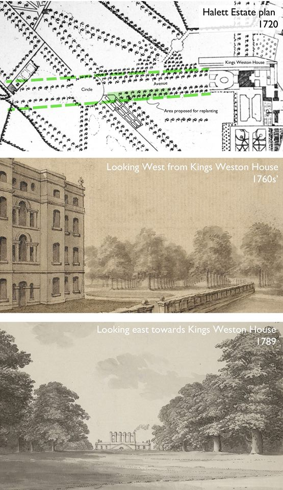 The Avenue through history