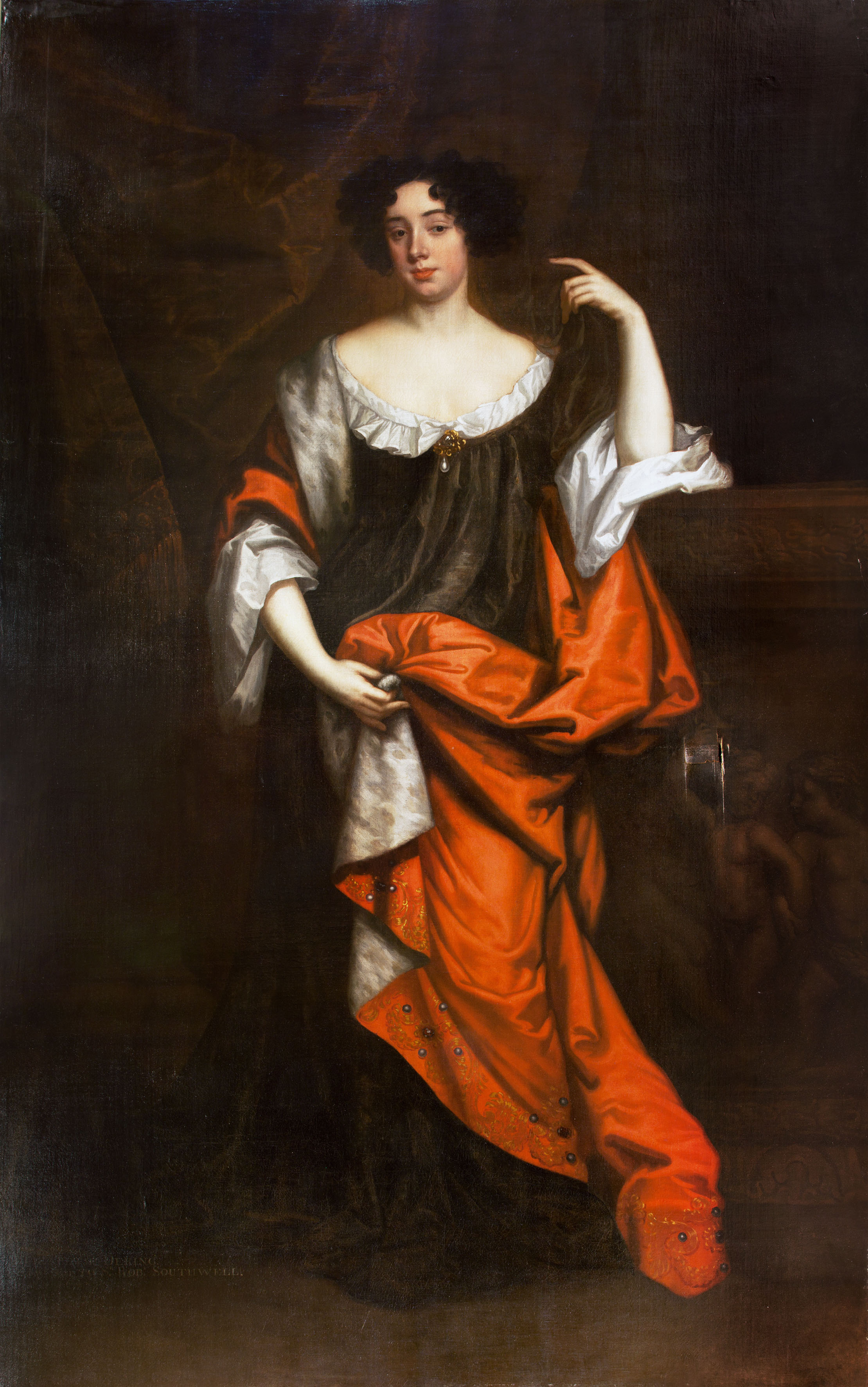 "Elizabeth Dering, by Sir Peter Lely and ""Mr Sonius"""