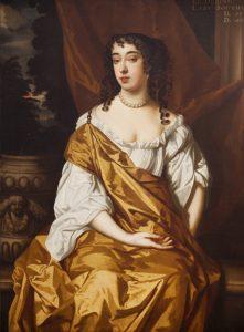 Elizabeth Dering, by Pooley, now in Kings Weston House.