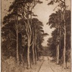 Etching by Robert Goff, brother-in-law to Philip Napier Miles, last private owner of Kings Weston.